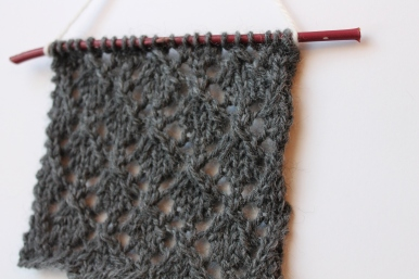 knitted lace wool