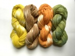 Naturally Dyed Garden Yarn from knittyvet.com