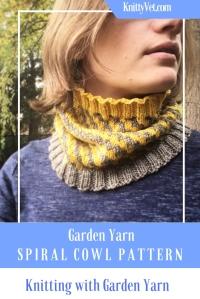 Garden Yarn Spiral Cowl Pinterest